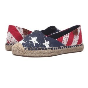 Sperry Stars & Stripes Flag Shoes - 7